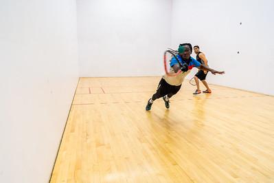 2018-10-28 Mens Singles - Open Semis Troy Warigon over Thomas Gerhardt