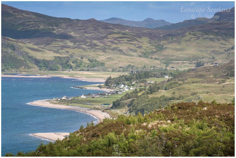 Glenelg Bay from the Sandaig road