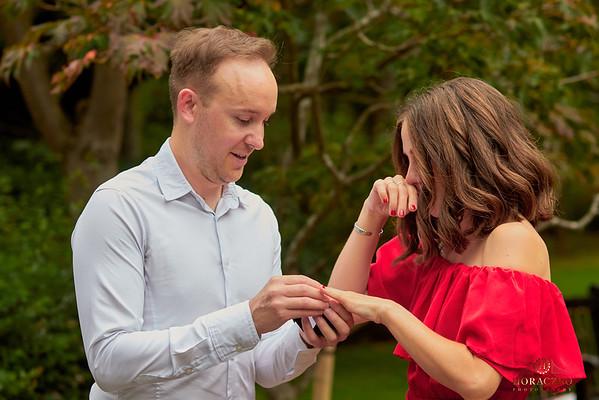 Secret proposal in Kyoto Garden in London