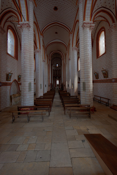 Chauvigny, Saint Peter Collegial Church Nave