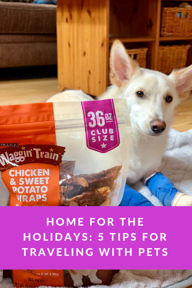 Going home for the holidays? Bringing your pets with you? We are too! Here are 5 tips for traveling with pets during the holiday season. #ad #BJsSmartSaver
