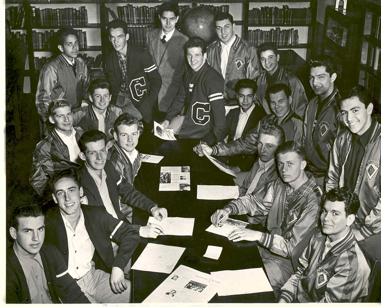 Activities 1949 or 1950 Yearbook Staff.jpg