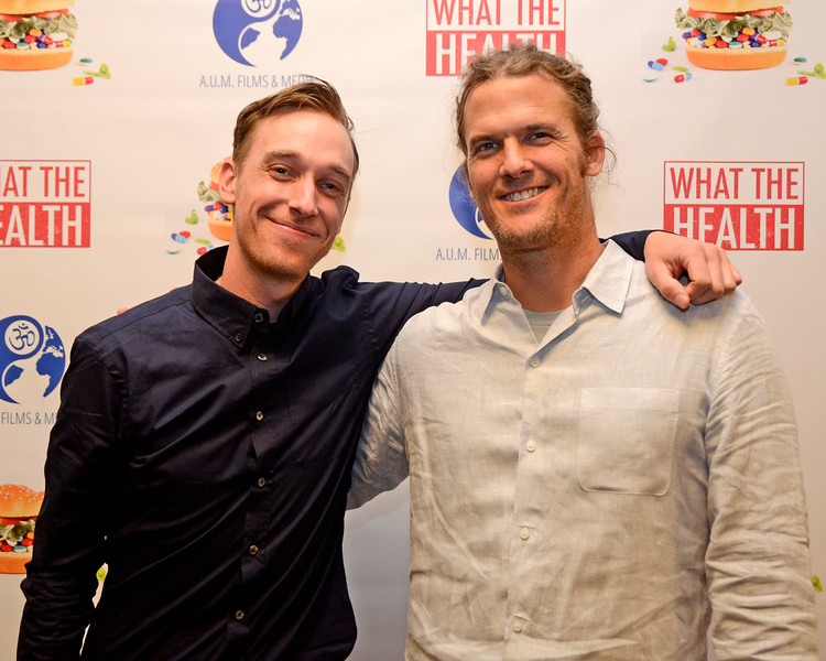 """NEW YORK - MARCH 7, 2017: """"What the Health"""" NYC Film Premiere and after party on March 7, 2017 at AMC Loews 19th Street and Jivamuktea Café in Manhattan, New York. (Photo by Lukas Maverick Greyson)"""