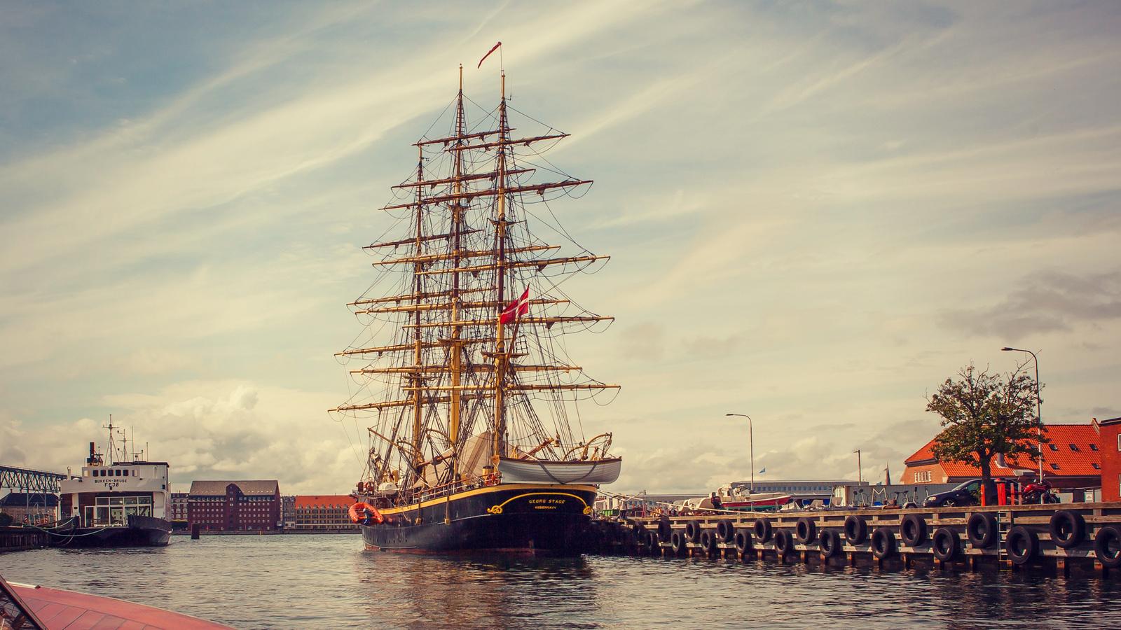 丹麦哥本哈根,城市岸景速报