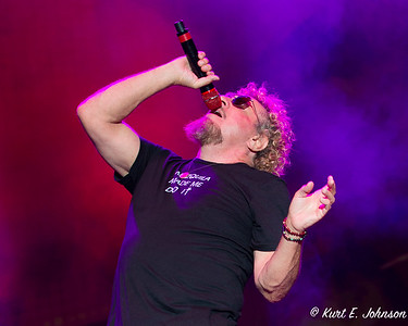 Sammy Hagar & The Circle at Harvey's Outdoor Arena