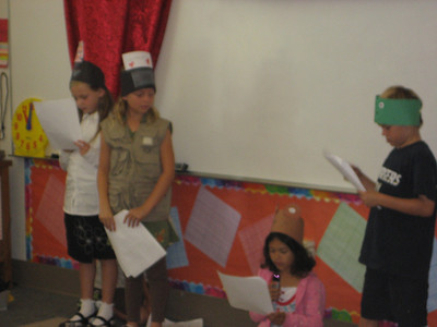 Frog & Toad- Pacific Elementary