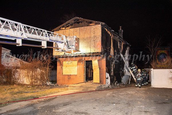 North Amityville House Fire 03/17/2021