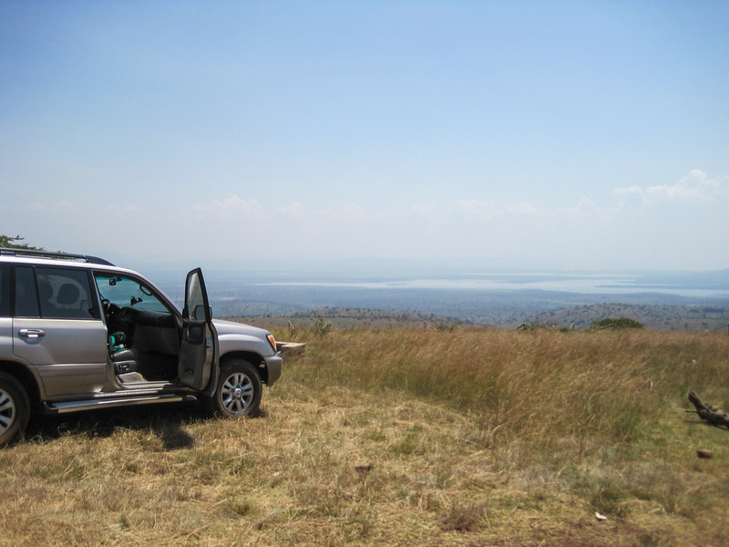 Mutumba Campsite overlooking the lakes in Akagera NP