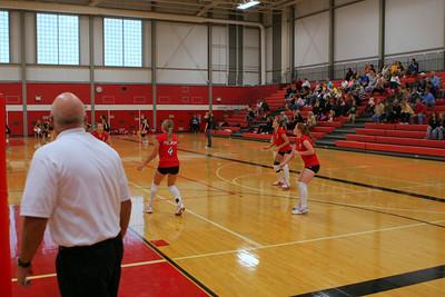 Girls JV Volleyball - 2007-2008 - 9/11/2007 Ludington