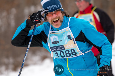 2-1-15 Loppet Sunday - Skate Marathon - Waves 1 through 4