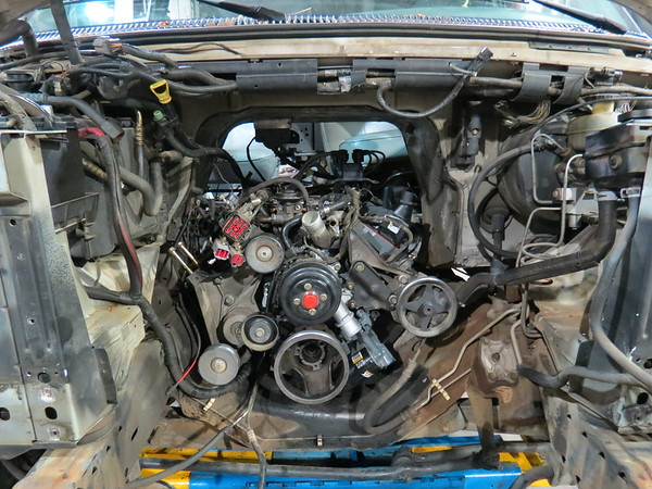 May 23:  93945 Engine replacement .  .  .