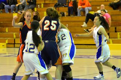 Girls Basketball December 2012
