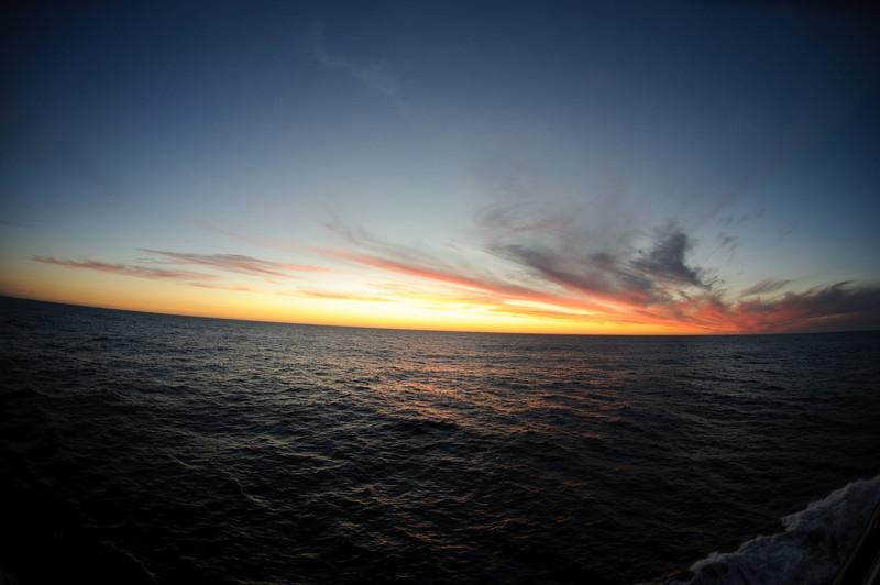 Ferry Sunset