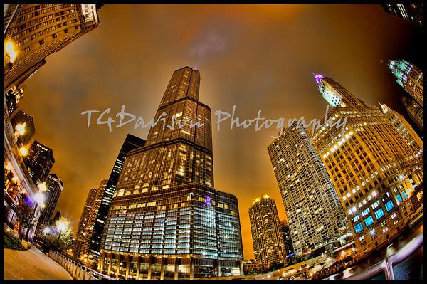 Chicago @ Night November 2012