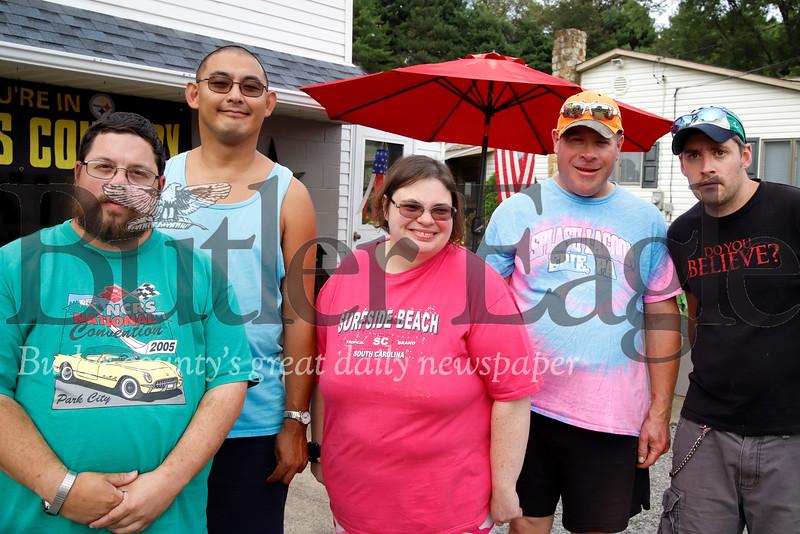 Left to right: Nick VanGorder, Phil Braho, Cathie Petrosky, Mark Robinson, Mark Petrosky.