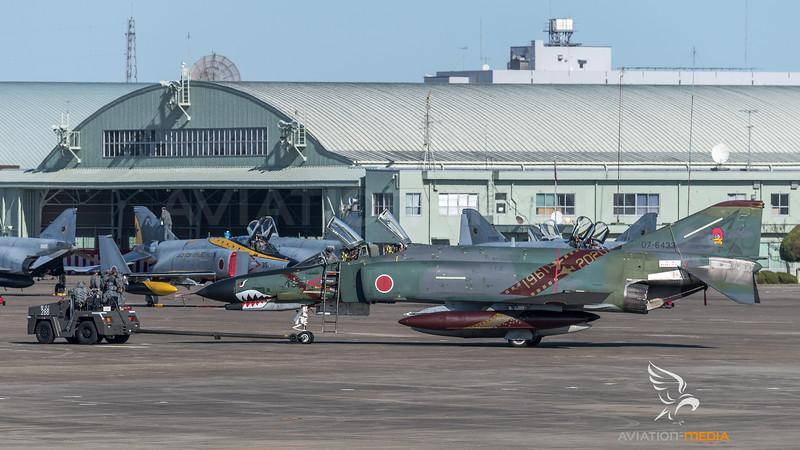 JASDF 501 Hikotai / McDonnell Douglas RF-4EJ Phantom II / 07-6433