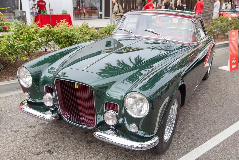 1955 Ferrari 375 America - 0355 AL, 1954 Turin Auto Show, custom built for Gianni Agnelli