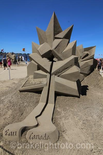Parksville Sandcastle Competition