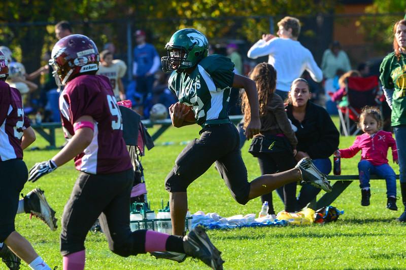 Eagles v. Wildcats - October 21, 2012