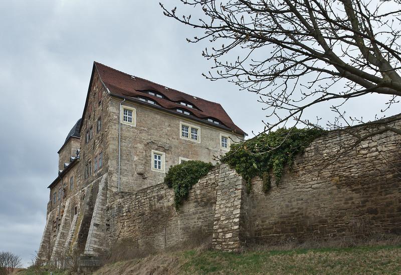 Weissensee, Runneburg. Ansicht von Südosten