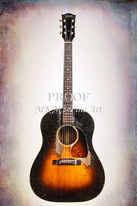 Gibson Guitar J45 Fine Art Prints