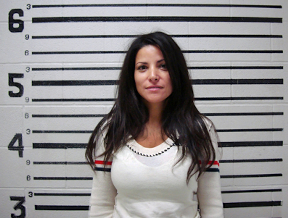 ". This photo provided by Val Verde, Texas, County Sheriff\'s Office shows  one-time NFL cheerleader and reality TV bride-to-be Mary Delgado who is out of jail after being arrested in a Del Rio, Texas, bar, Sunday, Nov 16, 2008.  Delgado, who accepted a televised proposal from ""The Bachelor,\"" or professional bass fisherman Byron Velvick, in 2004, was arrested in Del Rio early Sunday after refusing to leave a local bar. She was arrested on charges of disorderly conduct, public intoxication, and resisting arrest and released about an hour later. (AP Photo/Val Verde County Sheriff\'s Office)"