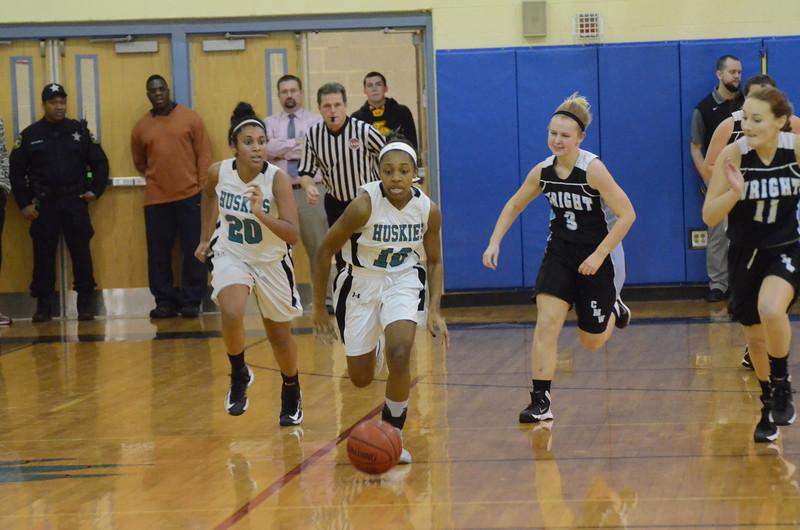 Girls Varsity Basketball January 10 vs C. Milton Wright