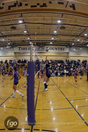 South v Southwest Volleyball 10-13-09