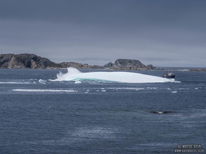 Iceberg 68d   Photography by Wayne Heim