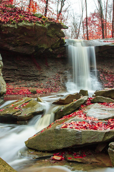 Blue Hen Falls in the Cuyahoga Valley National Park (2012-10-27)