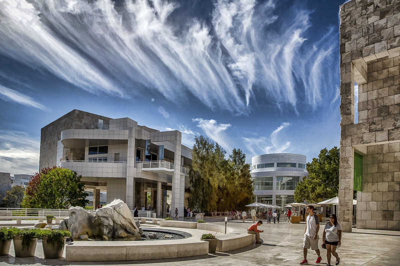 August 5 - Whispy clouds_ The Getty_ Los Angeles.jpg
