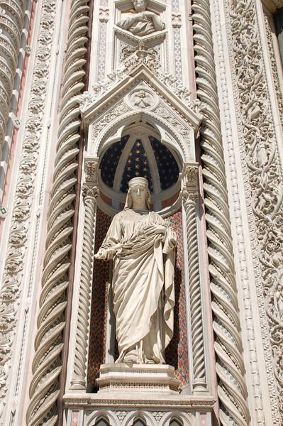 Facade Detail--Florence, Italy Duomo