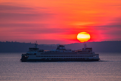 Seattle Sunrises & Sunsets