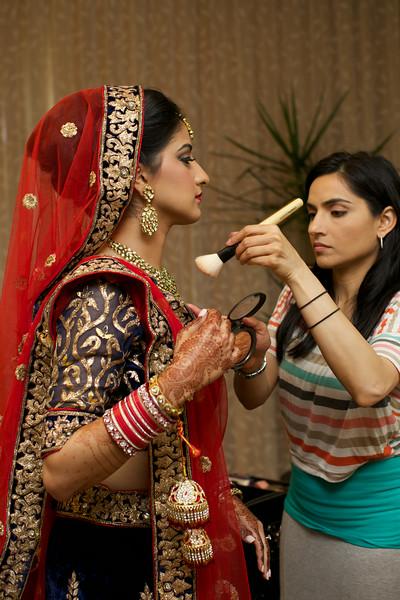 Le Cape Weddings - Indian Wedding - Day 4 - Megan and Karthik Bride Getting Ready 20.jpg
