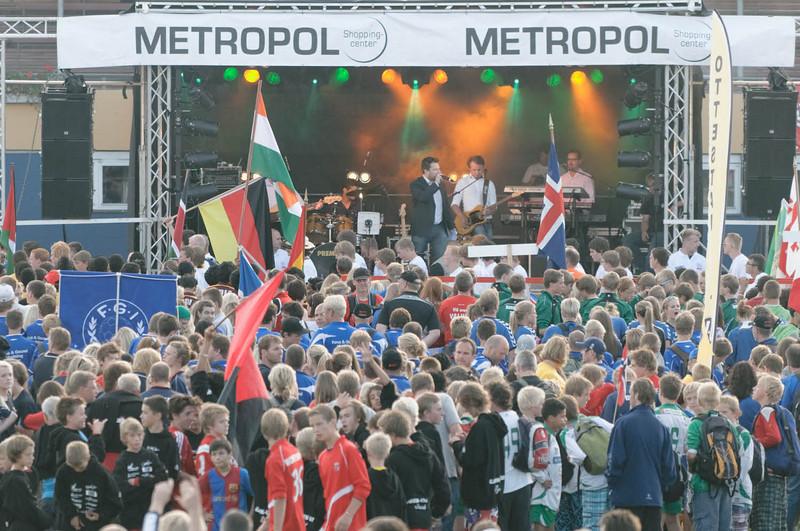 800 Teams aus mehr als 40 Ländern nahmen teil. Eine Riesenveranstaltung für eine Stadt mit 25000 Einwohnern.
