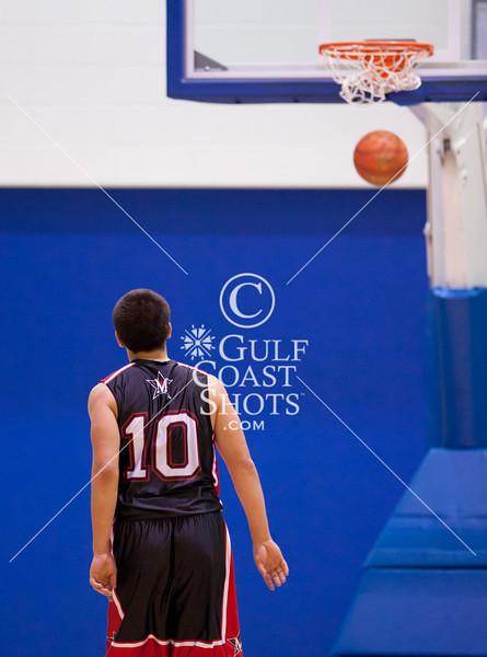 2010-12-18 Basketball Varsity Boys St. John's vs Yates @ Barnett