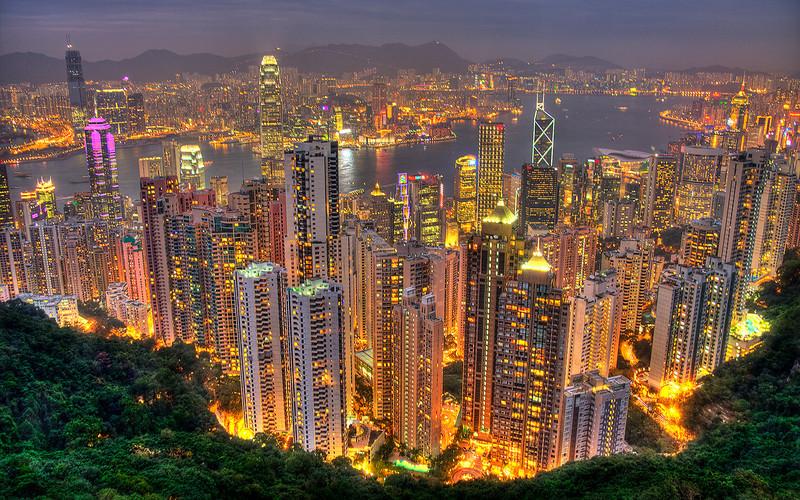Hong Kong Effervescence (HDR Image)