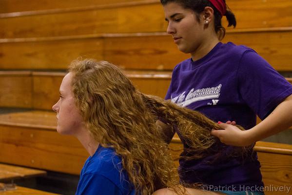 2012-10-25 Hillsdale Academy Girl's Junior Varsity and Varsity Volleyball vs. North Adams