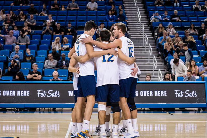 UCLA Men's Volleyball vs. Lewis @ Pauley Pavilion