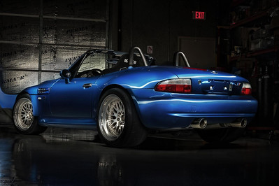 BMW E36/7 Z3 M Roadster (with LS1 V8)