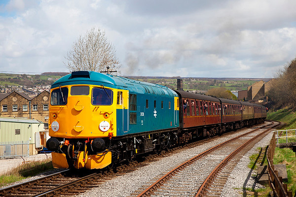 Keighley & Worth Valley Railway Modern Traction Gala