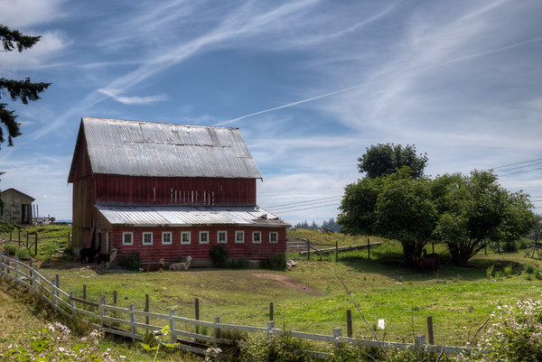 Barn - Before Topaz Labs Plugins - Vancouver Island, BC, Canada