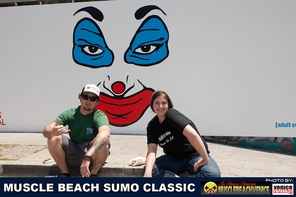 05.28.11 Muscle Beach Sumo Classic.  Hosted by Joe Wheatley Productions