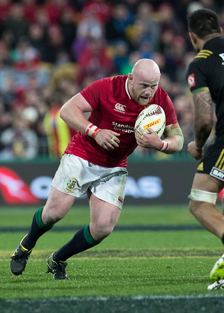 Dan Cole during game 8 of the British and Irish Lions 2017 Tour of New Zealand,The match between  Hurricanes and British and Irish Lions, Westpac Stadium, Wellington, Tuesday 27th June 2017 (Photo by Kevin Booth Steve Haag Sports)  Images for social media must have consent from Steve Haag