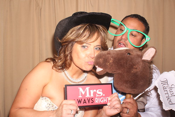 Ray and Patty's Wedding Photobooth