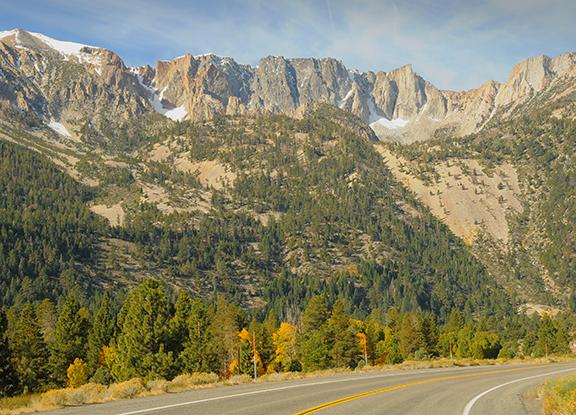 Tioga Pass in the Sierra Nevada Mountains