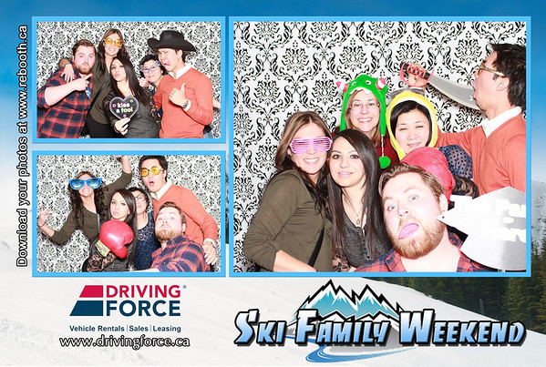 Driving Force Ski Family Weekend 2014