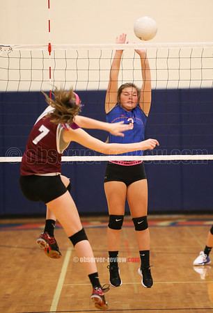 Penn Yan Volleyball 10-19-17