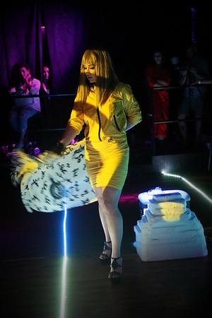 Alchemy Fashion show 7-8-17 - Burlesque routine #3