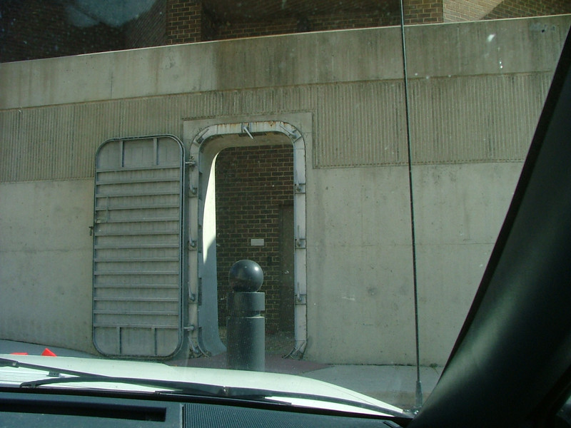 downtown flood walls